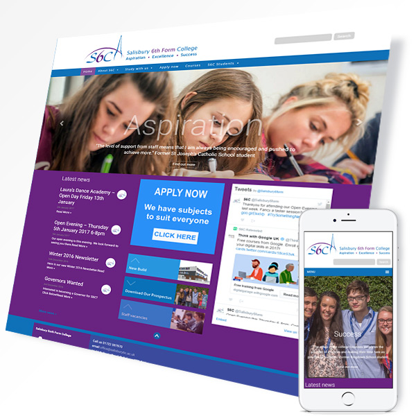 Fivepilchard - Salisbury Sixth Form College